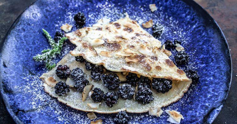 Brombeer-Pfannkuchen