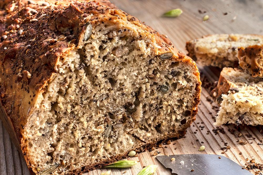Springkraut-Breitwegerich-Brot
