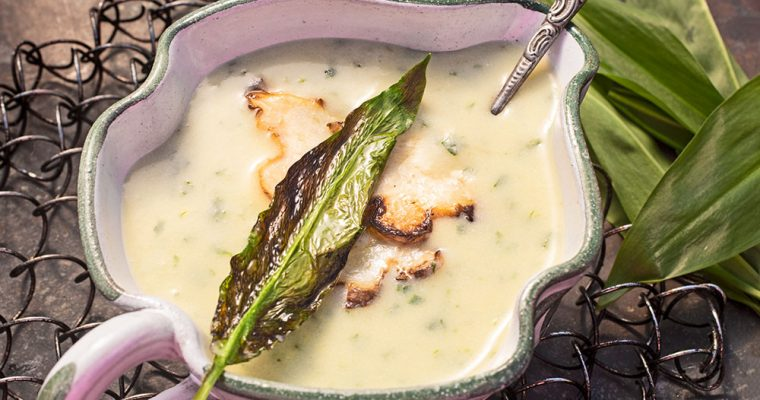 Kartoffel-Bärlauch-Suppe