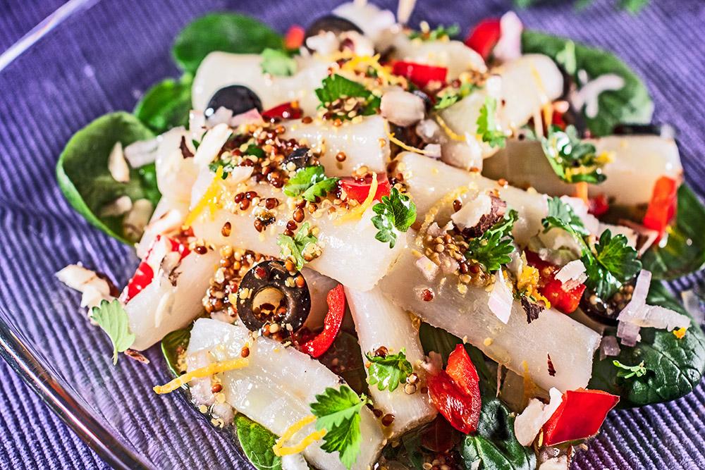 Schwarzwurzel-Salat