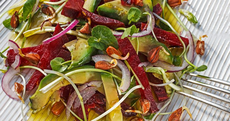 Avocado-Rote-Bete-Salat