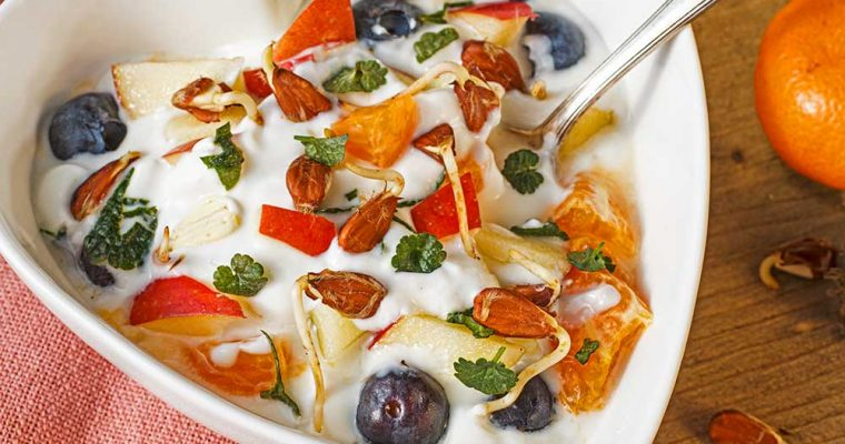 Joghurt-Müsli mit Buchensprossen