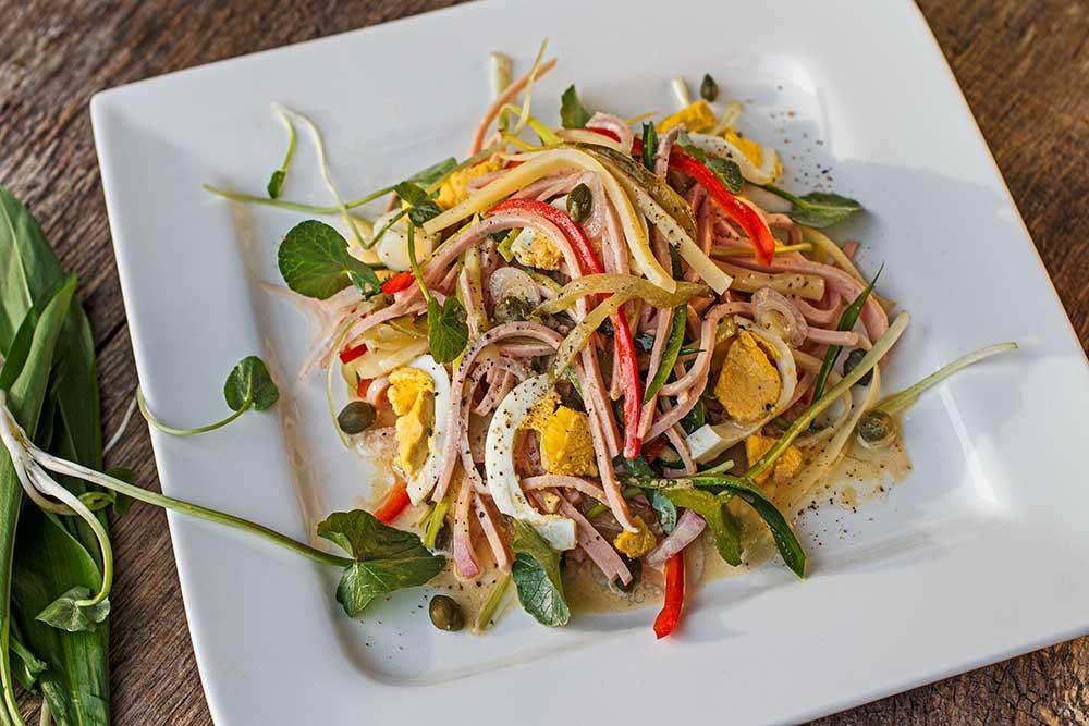 Badischer Wurstsalat