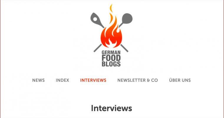 Interview mit German Food Blogs
